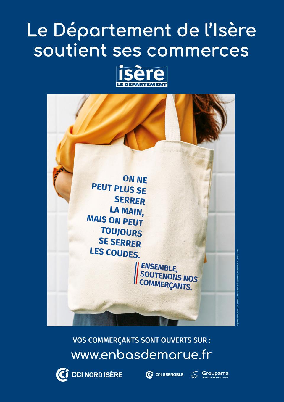 Le Département de l'Isère soutient ses commerces